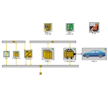 Hybrid Electric Vehicle Simulation Using GT-SUITE