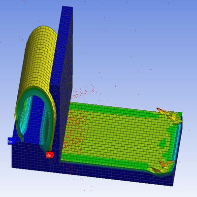 Simulation of Machining with Planar using Ansys Workbench