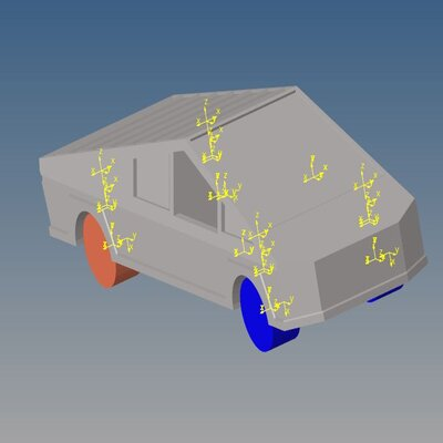 Full Vehicle Simulation on a Road Profile