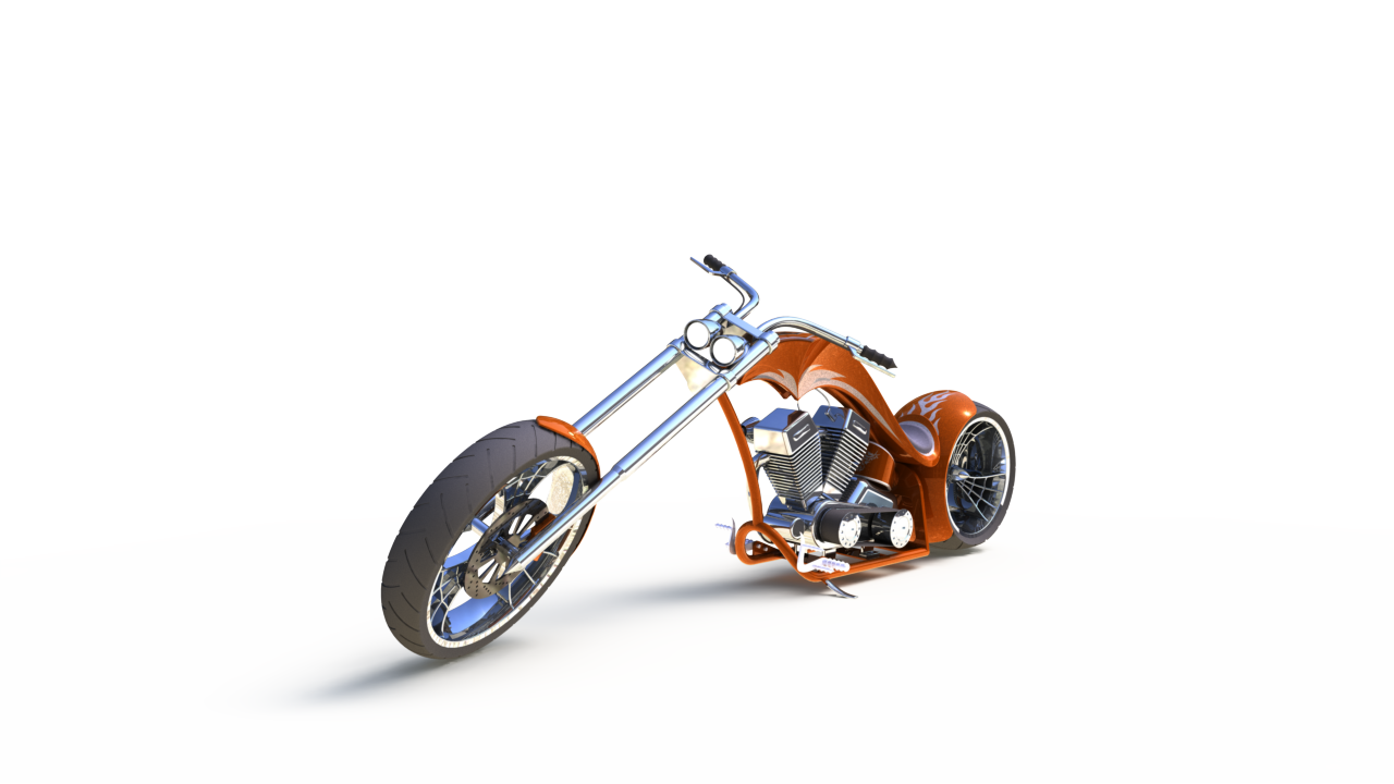 American Chopper Modelling Using Solidworks