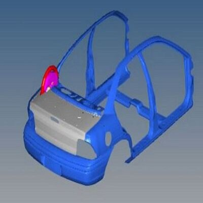 Automotive Trunk Lid Simulation