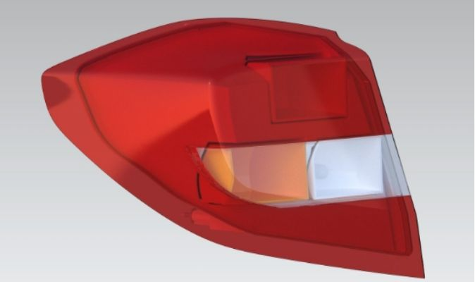 Automotive Tail-lamp Design using CATIA V5