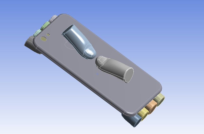 Simulation of Bending of an iPhone using ANSYS Workbench