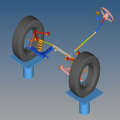 Flex body analysis on the LCA of a Suspension