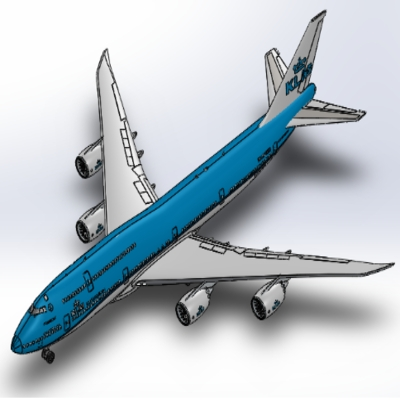 Modelling Boeing 747 Using SolidWorks